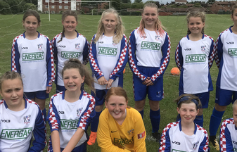 Girls Football Team Smashes It with Energas Kit Sponsorship Deal