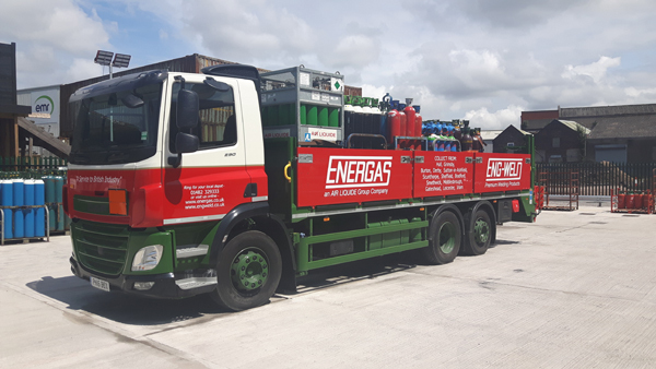 Energas Liverpool - Lorry